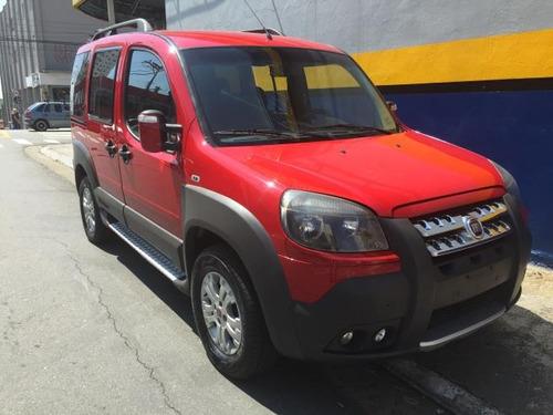 doblo adventure xingu vermelho 2013 completa nova winikar!!!