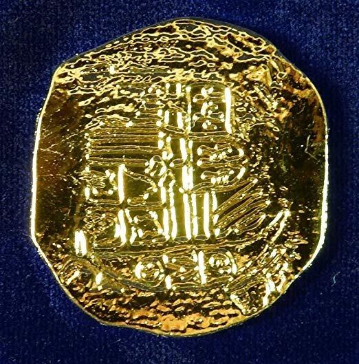 Doblones Monedas Piratas Oro Españoles 1651 Rp -   892 f29ec1c9f63