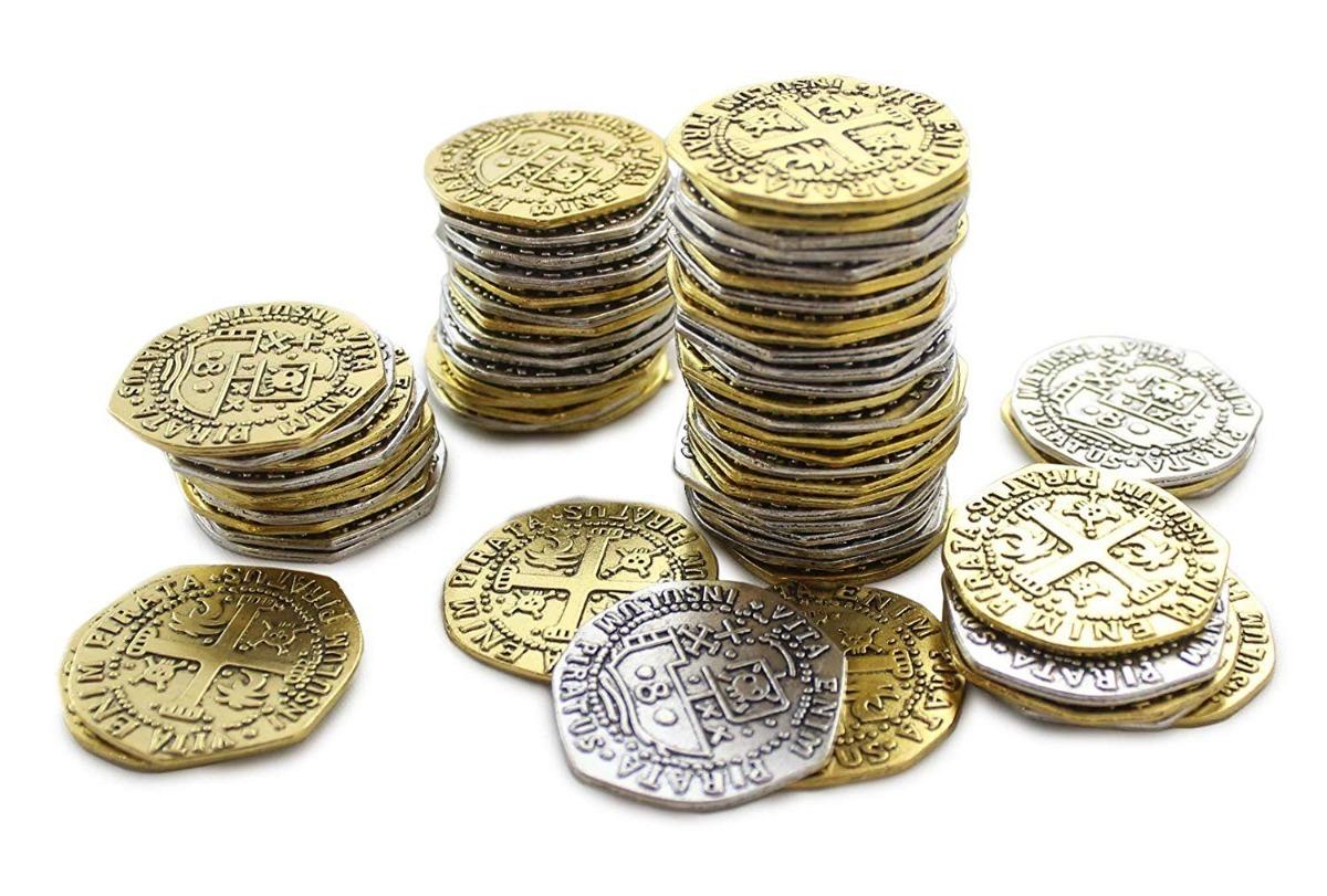 doblones monedas piratas oro españoles 1651 rp. Cargando zoom. 75f8c77b01f