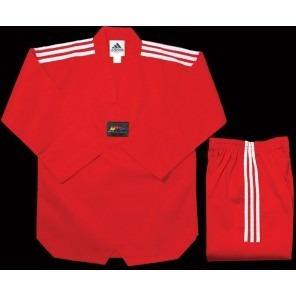 dobok adidas de taekwondo color rojo talle 180 cm