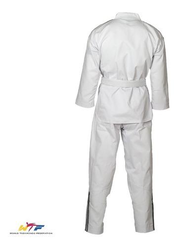 dobok adidas taekwondo wtf traje blanco kimono adiclub3