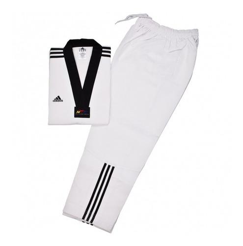 dobok adidas taekwondo wtf traje negro kimono adiclub3