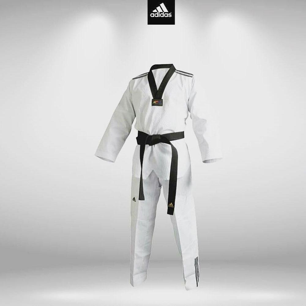 classic styles new york retail prices Dobok Kimono adidas Taekwondo Adiclub 3s Gola Preta 2019