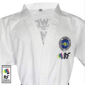 Dobok Profesional Panal Bordado Taekwondo Dan Itf Granmarc
