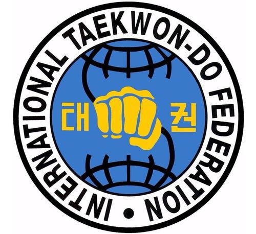 dobok taekwondo itf talles 0 a 2 traje shiai uniforme niños