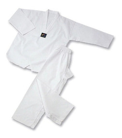 Dobok Taekwondo Traje Wtf Uniforme Niños T 1/5 Keep Calm