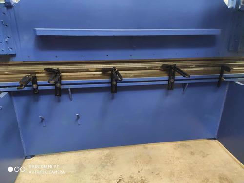 dobradeira e guilhotina hidráulica usada