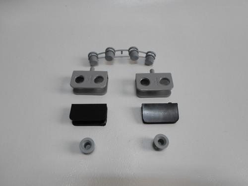 dobradiça aço cinza porta vidro 6mm rack estante armário
