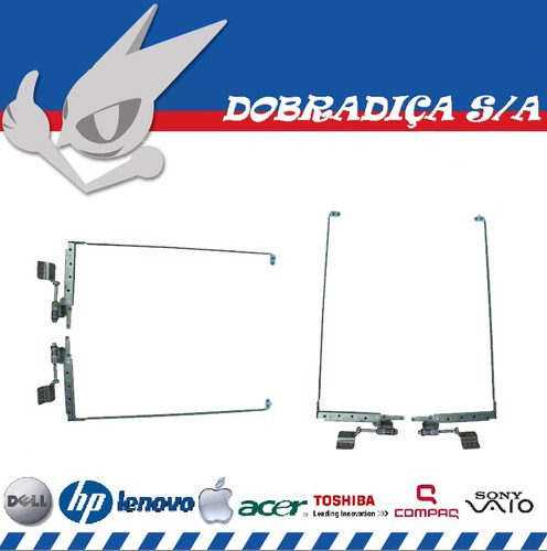 dobradiça toshiba satellite l500 series am073000600 / 500
