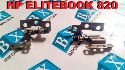 dobradiças do lcd hp elitebook 820