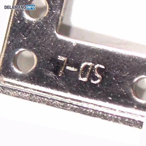 dobradiças netbook megaware sd-l-13 sd-r-13 promoção (2317)