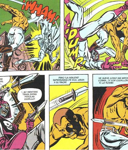doc savage el hombre de bronce - ecc españa - pulps ron ely