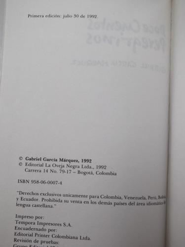 doce cuentos peregrinos garcía márquez primera edición