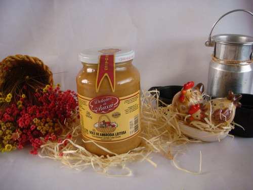 doce de ambrosia (delicias de araxá)