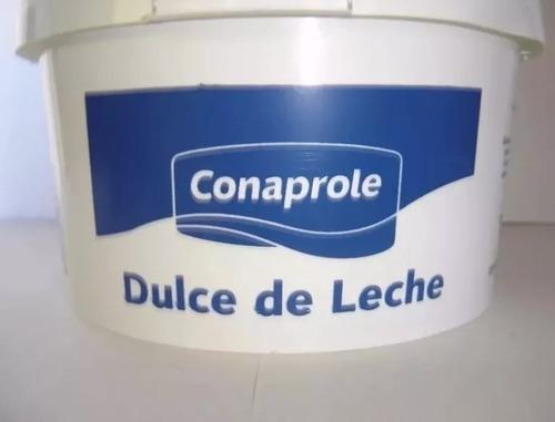 doce de leite uruguaio conaprole 3kg  val:29/ 09