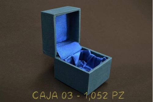 docena 12 caja de regalo o estuche para joyería azul marino