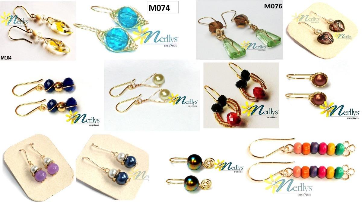 76c91835f641 Docena Aretes Zarcillos Baño De Oro Elegantes Moda Mujer -   30.000 ...