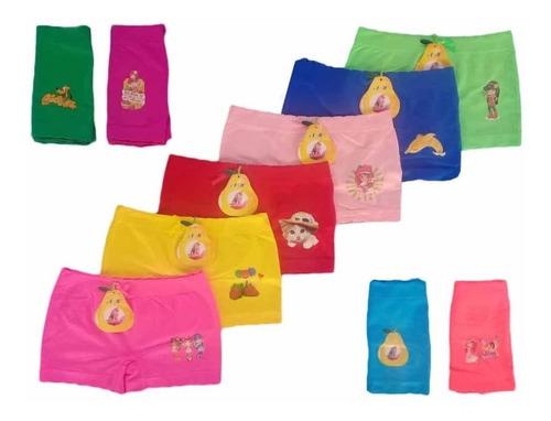 docena de cachetero para niñas talla única (12 piezas)