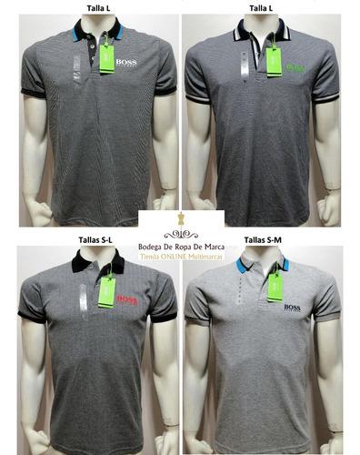 docena de camisetas hugo boss tipo polo (al por mayor)