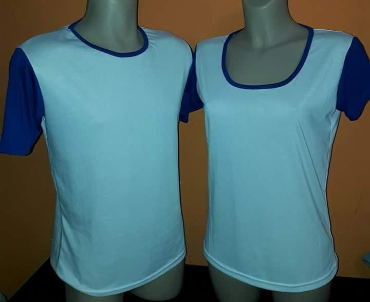d0b9d1ef9 Docena De Camisetas Lisas Para Estampar Con Sesgos Coloridos ...