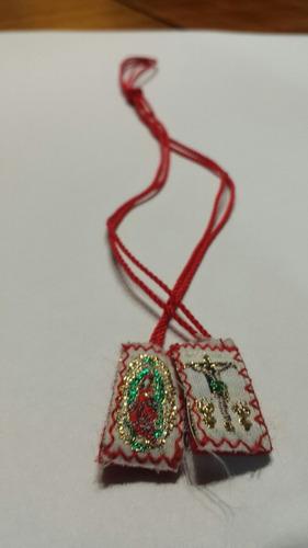 docena escapulario mini virgen de guadalupe y otras imágenes