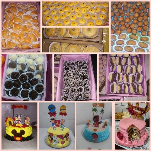 doces, salgados e bolos