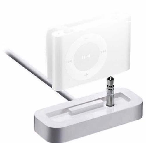 dock apple ma694g/a para ipod shuffle-original envio hoje