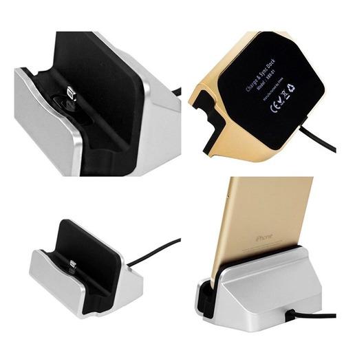 dock cargador para iphone 5/5s 6/6s 6 plus/6s plus