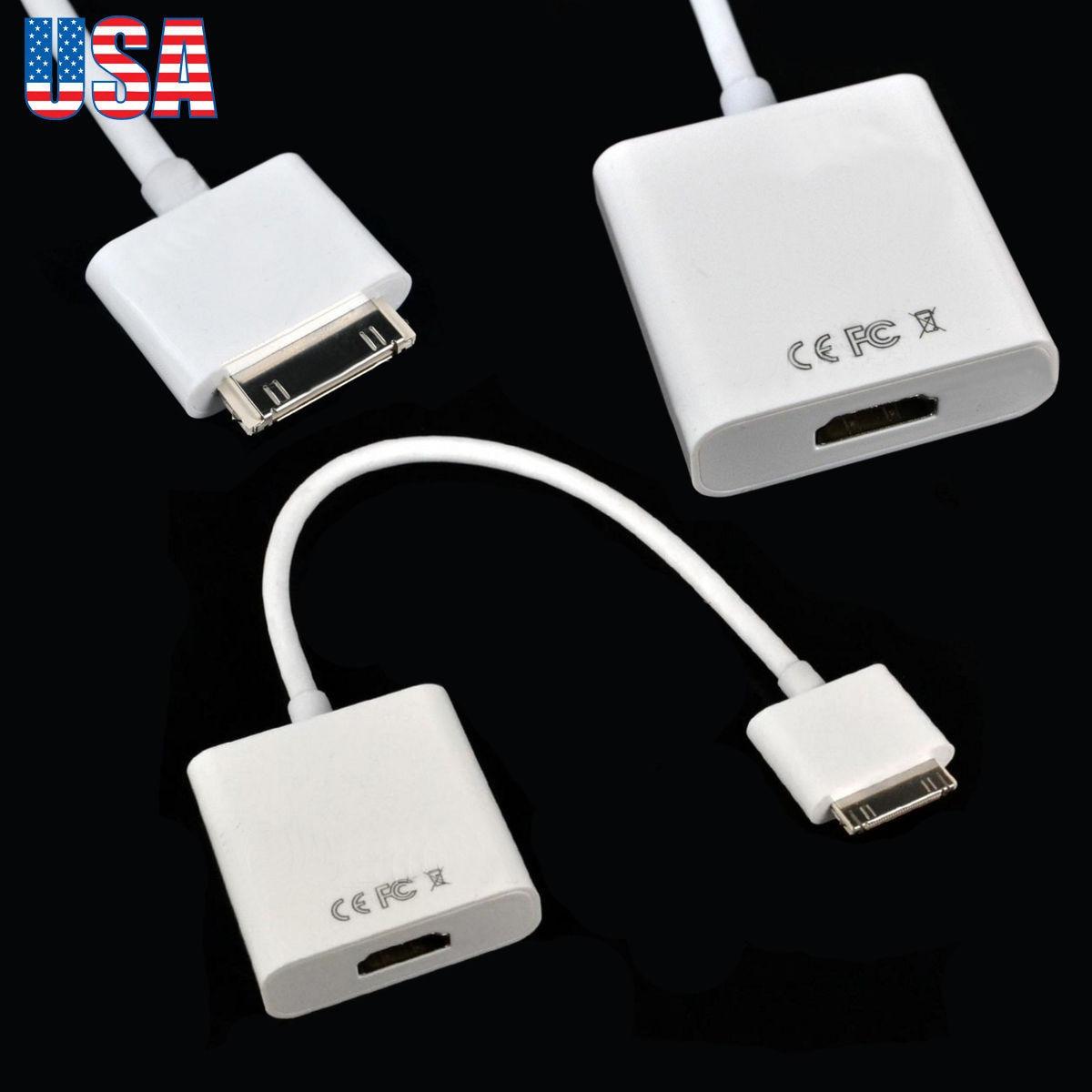 0bb4c630a37 dock de 30 pin al adaptador de hdmi para apple ipad 1 2 3 3. Cargando zoom.