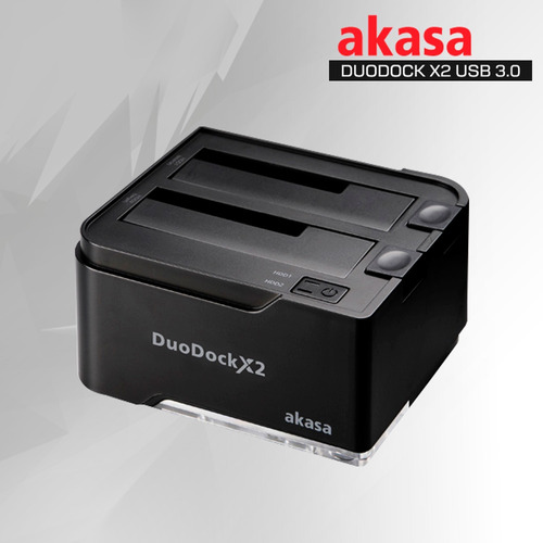 dock hd 2.5/3.5 duo dock x2 usb 3.0 ssd e sata - para 2 hds