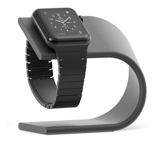 dock metal suporte mesa base para apple watch series 1 2 3