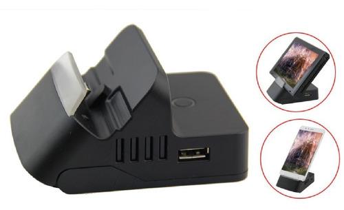 dock nintendo switch accesorio cargador para conectar la tv mientras jugas