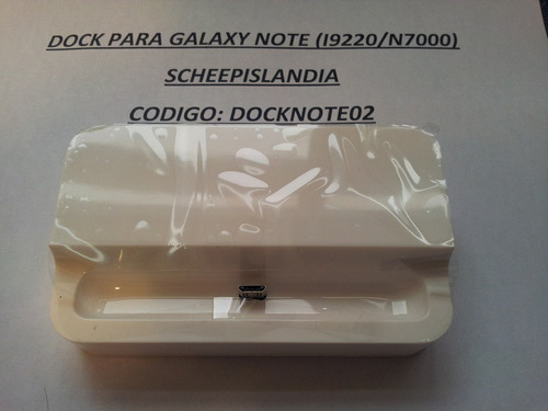 dock para galaxy note (i9220/n7000) docknote2