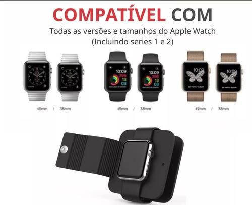 dock protetor base suporte de mesa apple watch 1 2 3 e 4