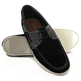 9265a55c1d Sapato Dockside Masculino Em Couro Nobuck Azul Dock Sider - Sapatos ...