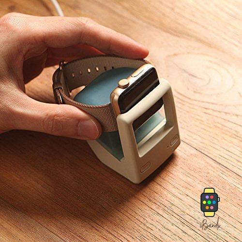 dock station mini mac aqua blue base carregadora apple watch