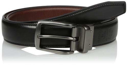 dockers cinturón casual reversible para hombre con estiramie