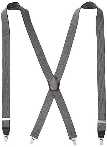 dockers hombres 1.25 pulgadas x-back stretch suspender, negr