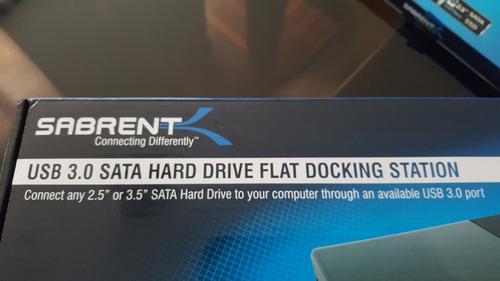 docking disco duro externo de 2.5 /3.5   sabrent usb 3.0
