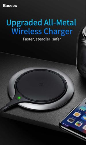 docking station carregador iphone x samsung s8 wi-fi baseus