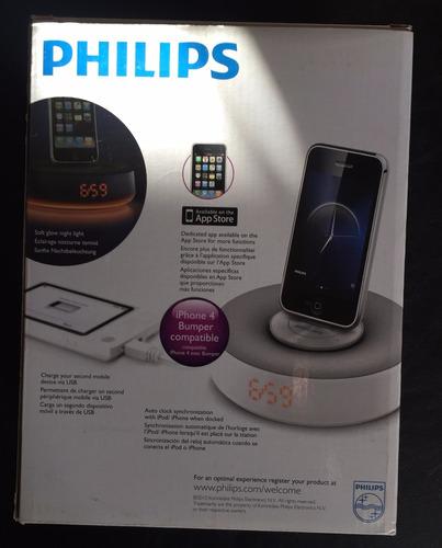 docking station philips fidelio ds1100 ipod iphone cargador