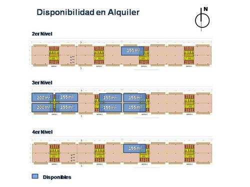 docks al río - alquiler - piso 4 - 155 m2
