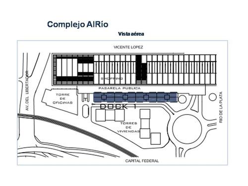 docks alrío - venta oficina a+ en vicente lopez - 155m2