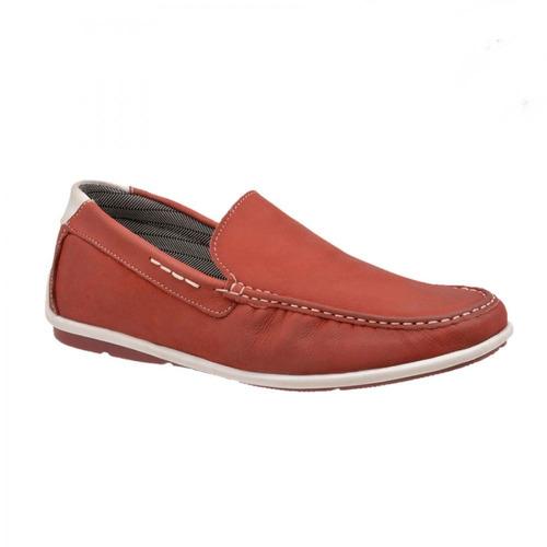 dockside mocassim masculino sapato de couro legítimo oferta