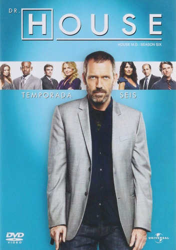 doctor dr house  sexta temporada 6 seis dvd
