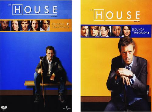 doctor house paquete temporadas 1 - 8 serie completa dvd