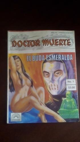 doctor muerte no.1 el buda esmeralda mendizabal editores