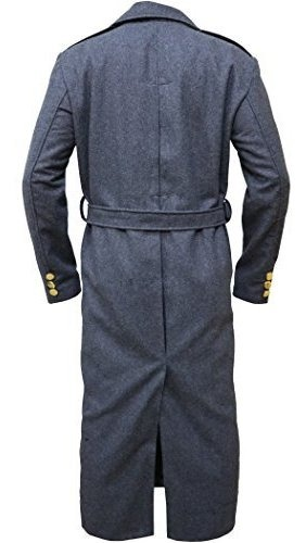 XXS-3XL Coats & Jackets The Jasperz Doctor Who Captain Jack Harkness John Barrowman Long grey trench Coat