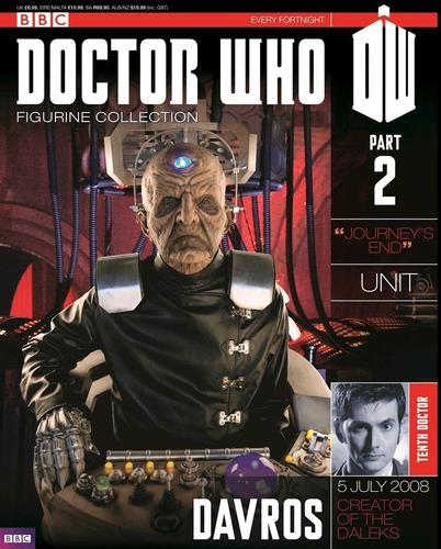 doctor who - davros - miniatura