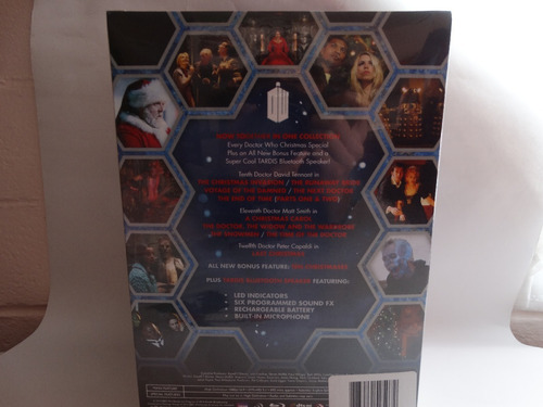 doctor who tardis bluetooth- massive audio